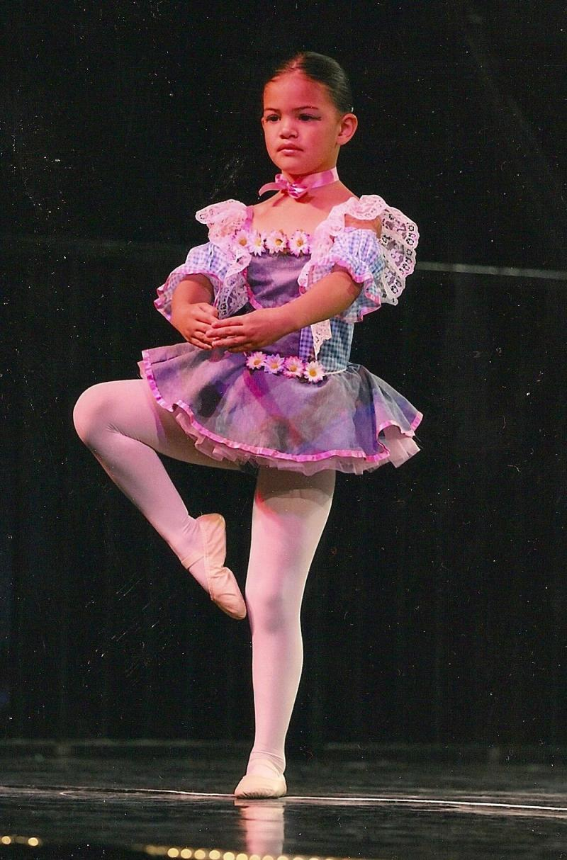 Dancer on-stage